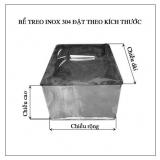Bể treo Inox 304 dung tích 1000l ( B�...
